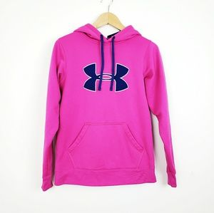 Under Armour Pink Hoodie | Small